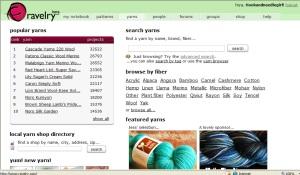 rav yarn page